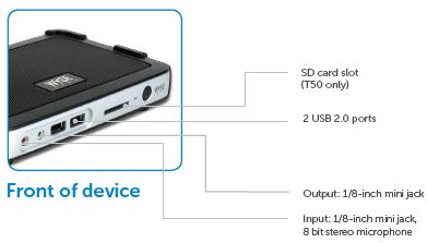 Dell Thin Client Desktop 3012-T10 - Dual Core